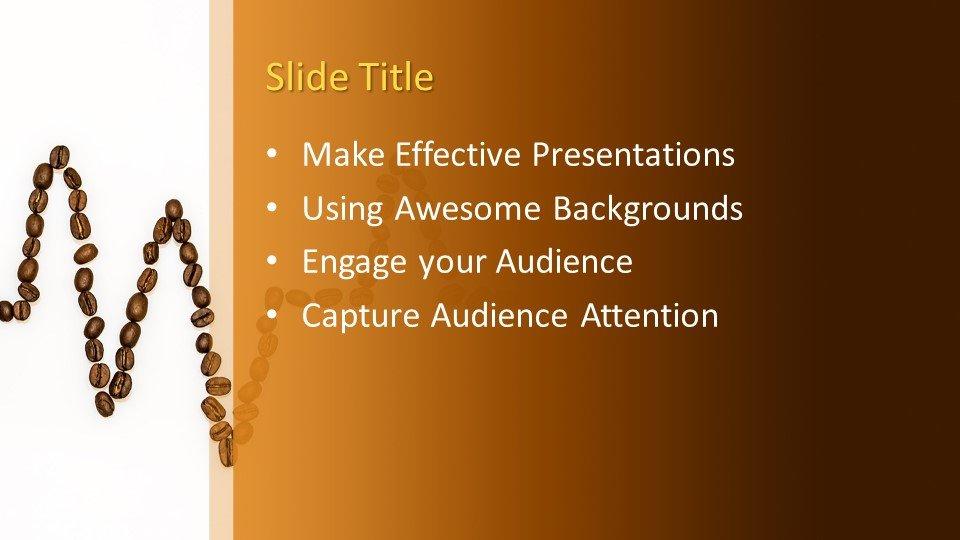 Powerpoint presentacion Frijoles de café arriba y abajo