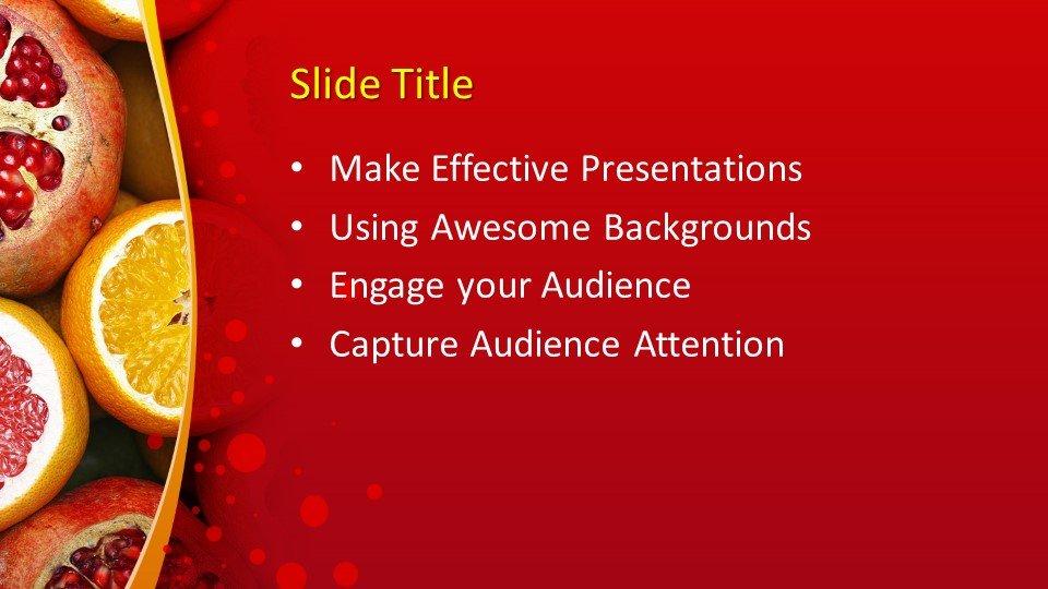 Powerpoint presentacion Pomegranate