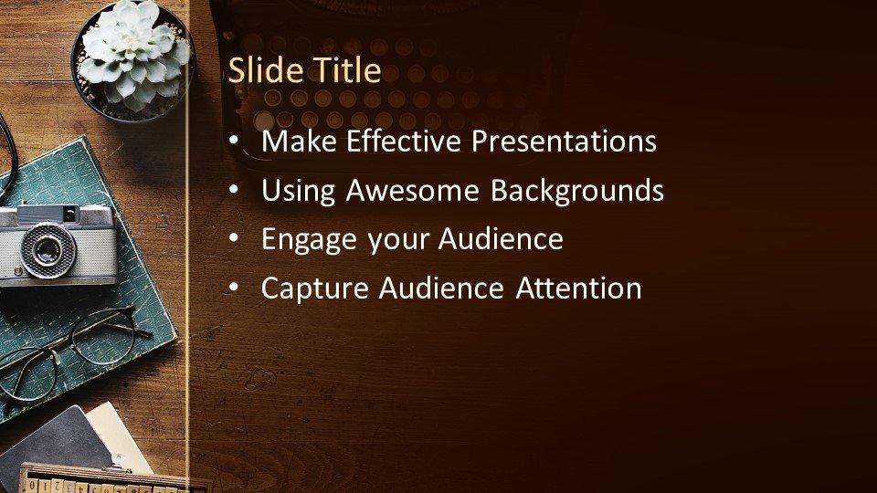 Powerpoint presentacion Máquina de escribir