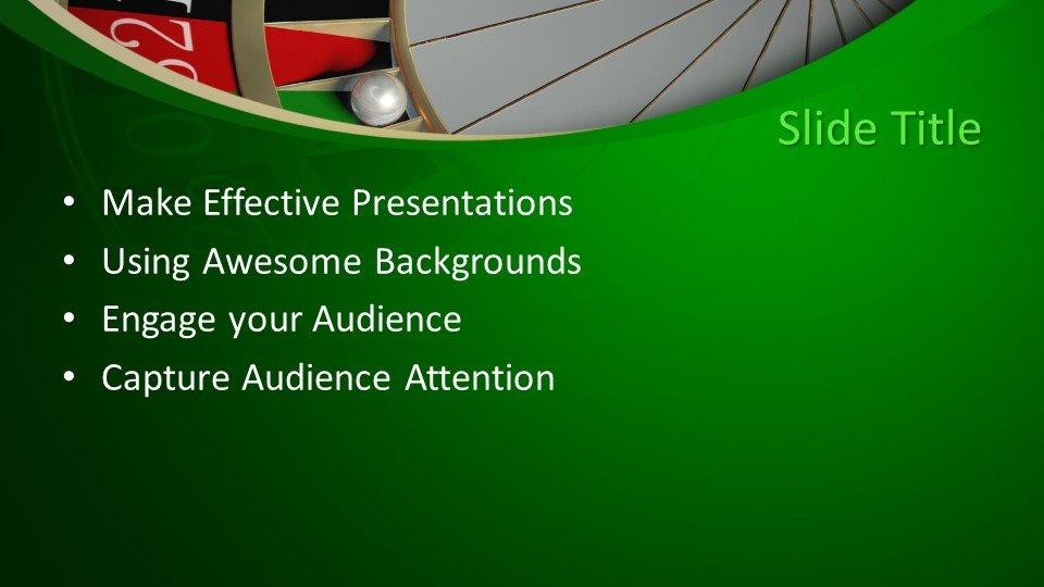 slides plantilla powerpoint Juegos de azar