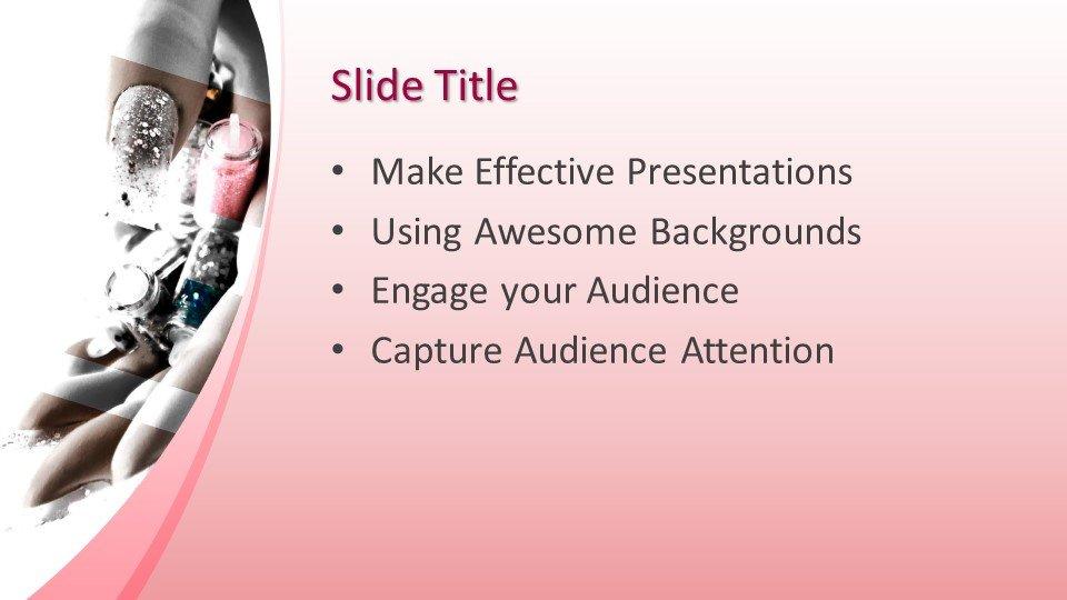 Powerpoint presentacion Manicure