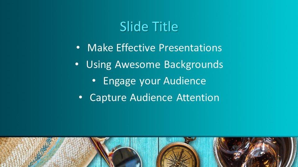slides plantilla powerpoint Agencia de Viajes