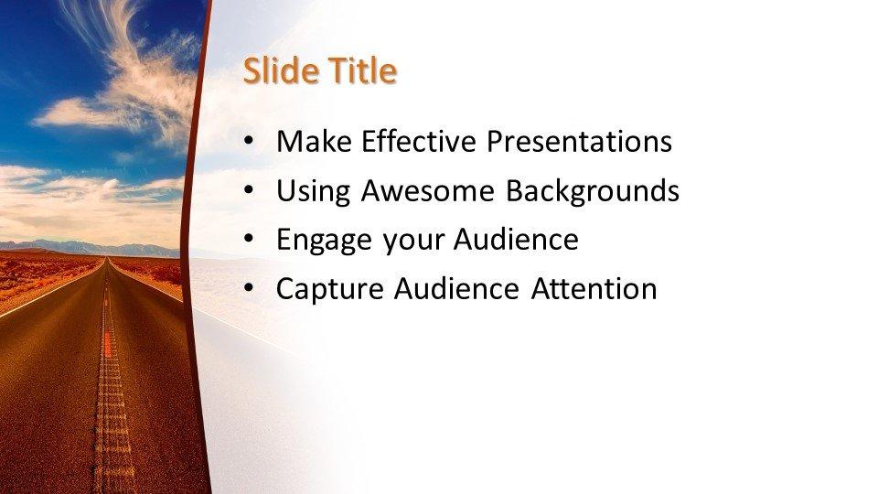 Powerpoint presentacion Carretera