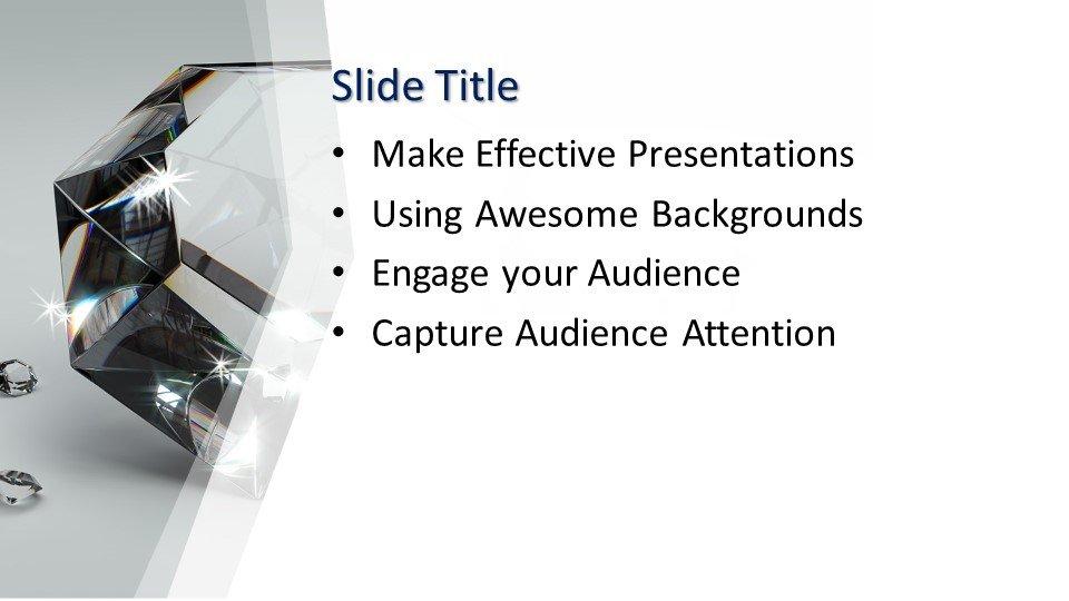 Powerpoint presentacion Diamante de lujo