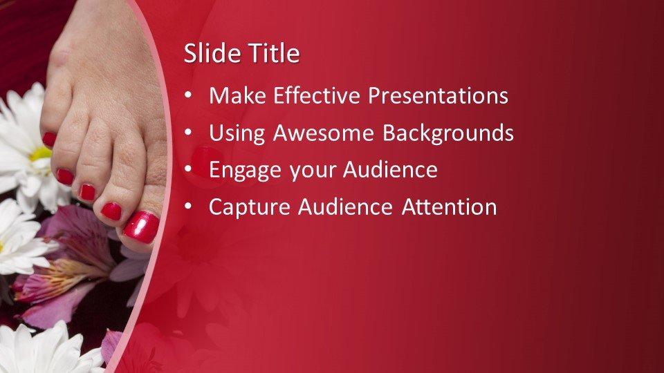 Powerpoint presentacion Pedicure