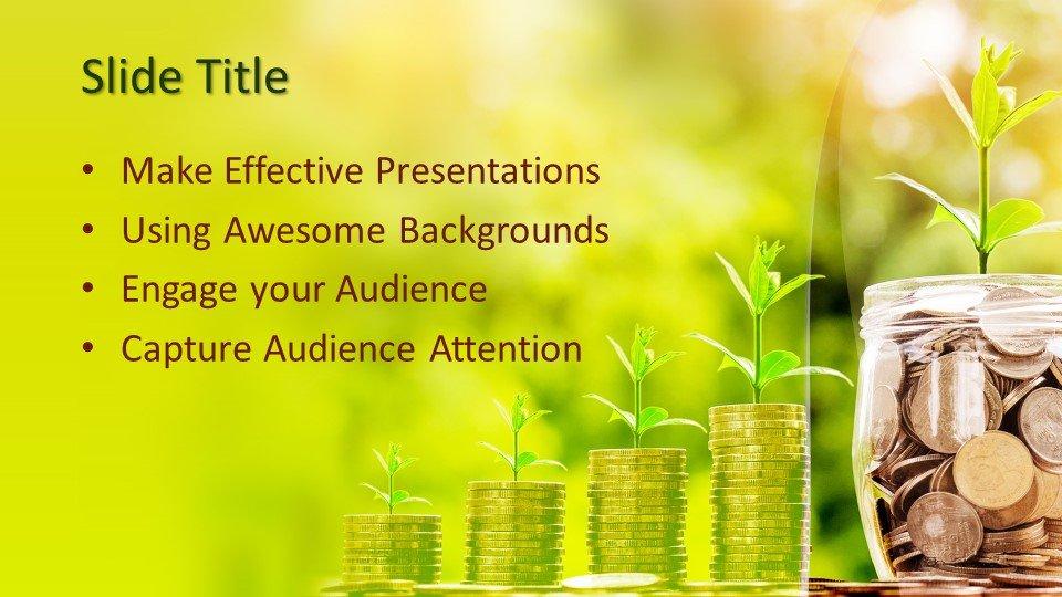 Powerpoint presentacion Crecimiento del ahorro