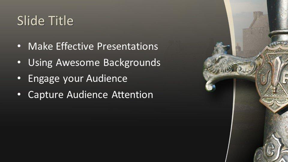 Powerpoint presentacion Espada