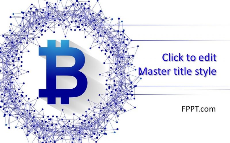 plantilla powerpoint  plantilla de diapositivas bitcoin