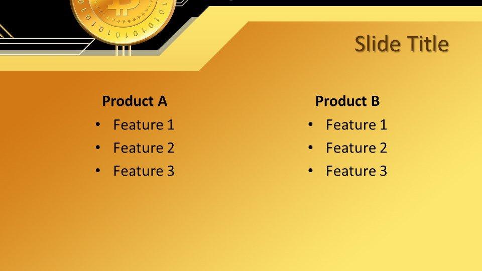Descargar tema powerpoint Dinero Bitcoin