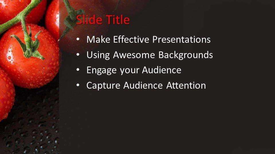 Powerpoint presentacion Tomates de Cosecha