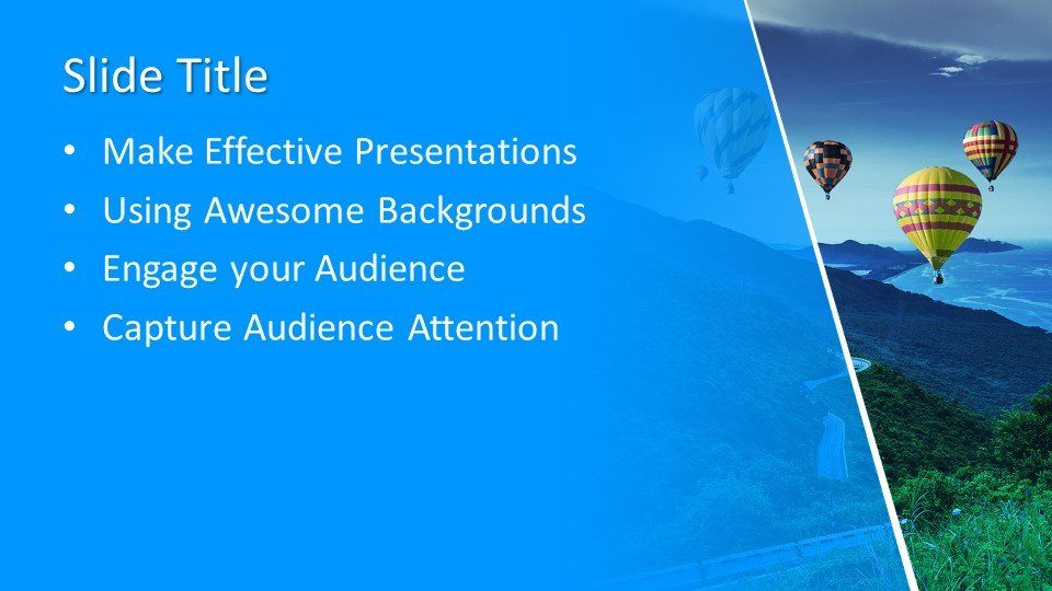 Powerpoint presentacion Globos de aire