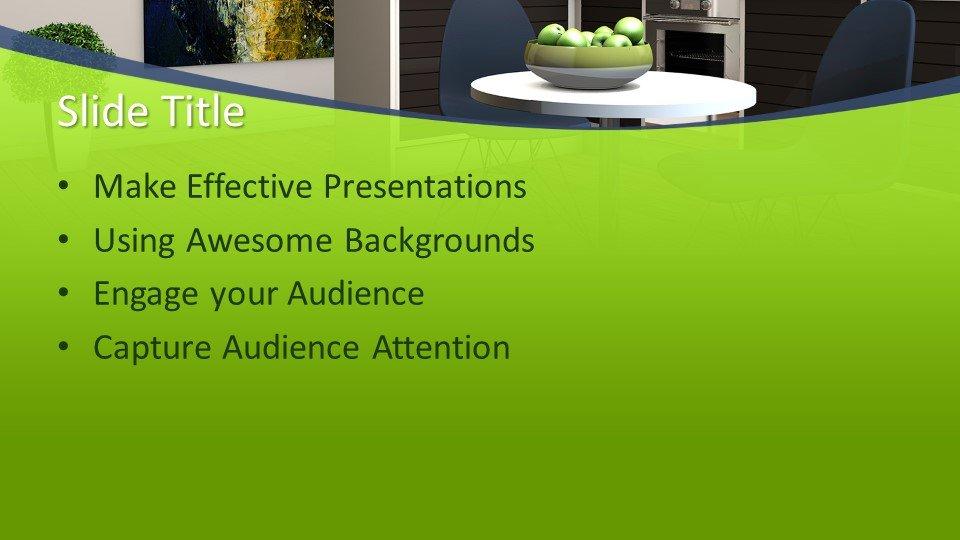 slides plantilla powerpoint Interior Design