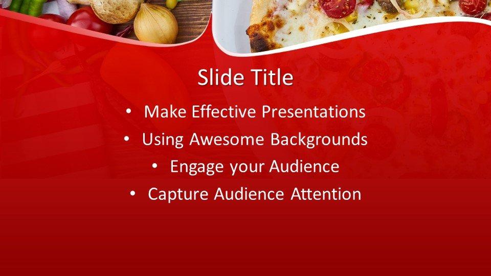 slides plantilla powerpoint Entrega de Pizza