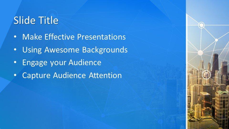 Powerpoint presentacion Ciudad inteligente
