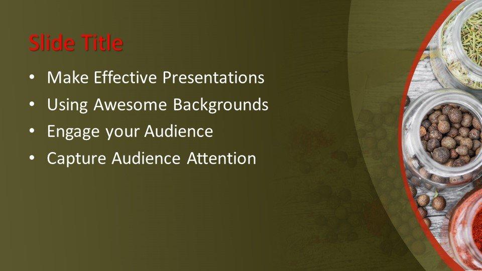 Powerpoint presentacion Especias