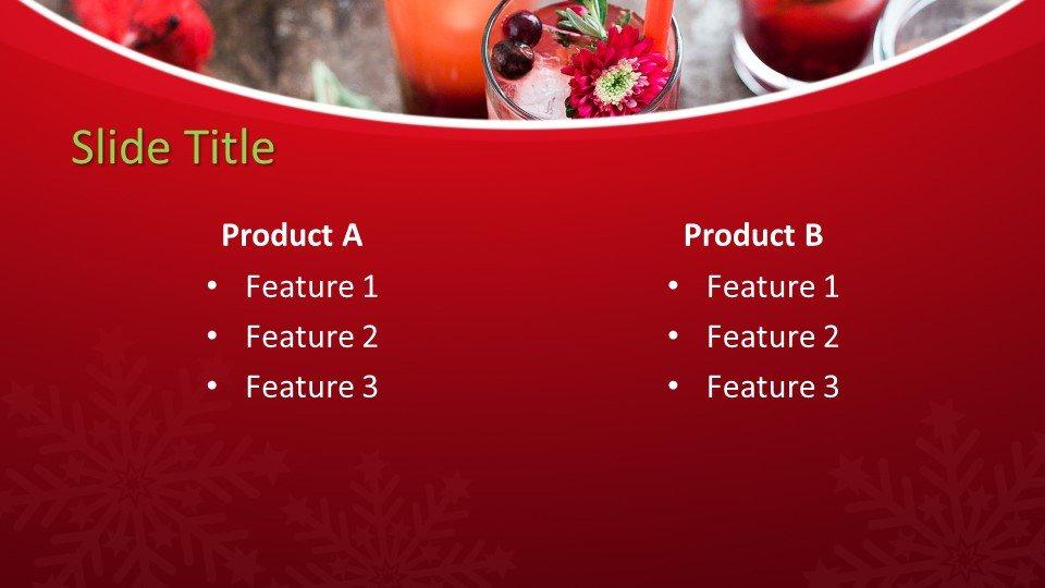 Descargar tema powerpoint Navidad