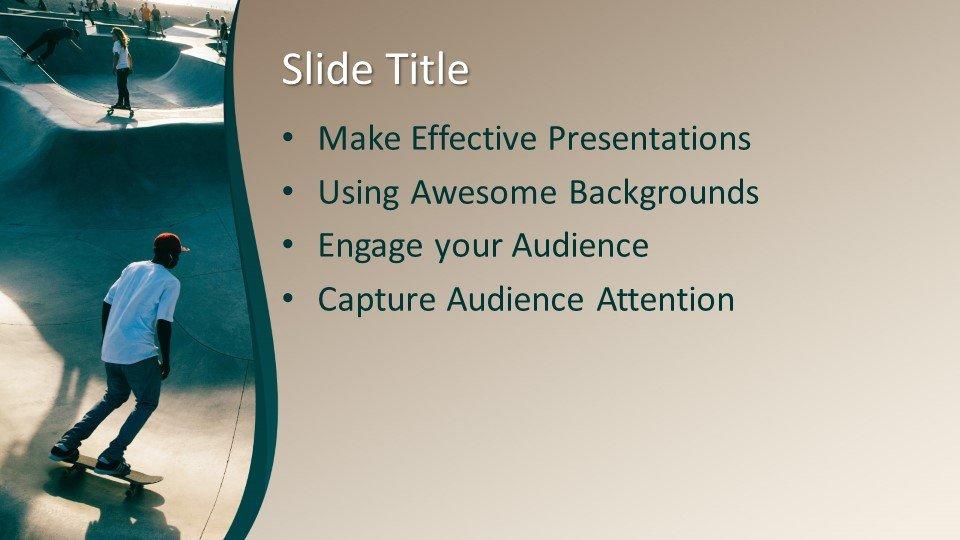 Powerpoint presentacion Monopatín