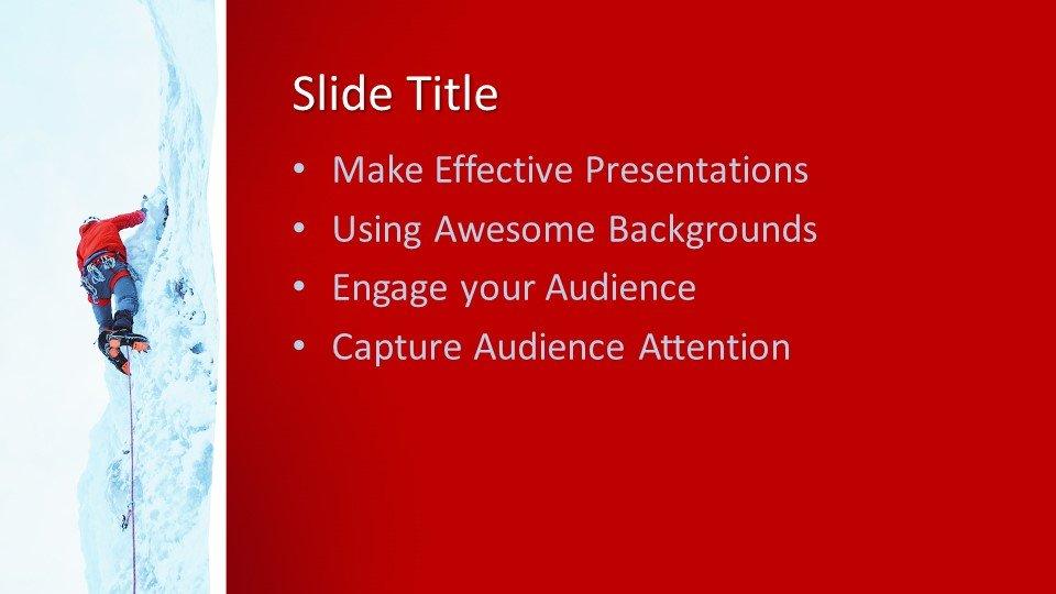 Powerpoint presentacion Escalador