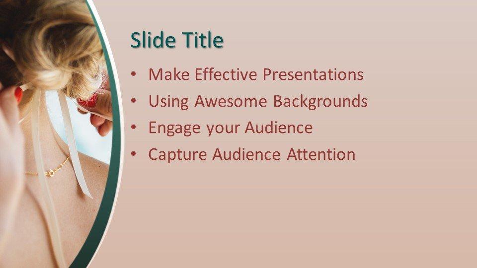 Powerpoint presentacion Peinado de bodas