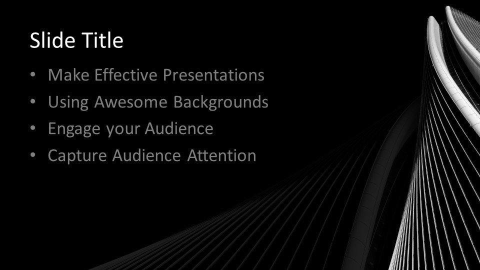 Powerpoint presentacion Arquitectura oscura