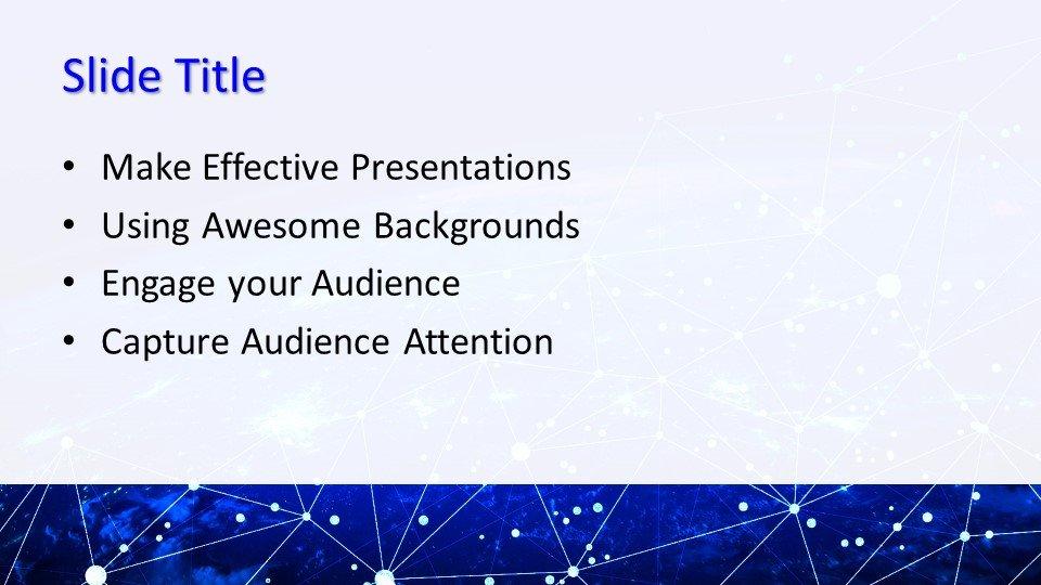 slides plantilla powerpoint Red Global de TI