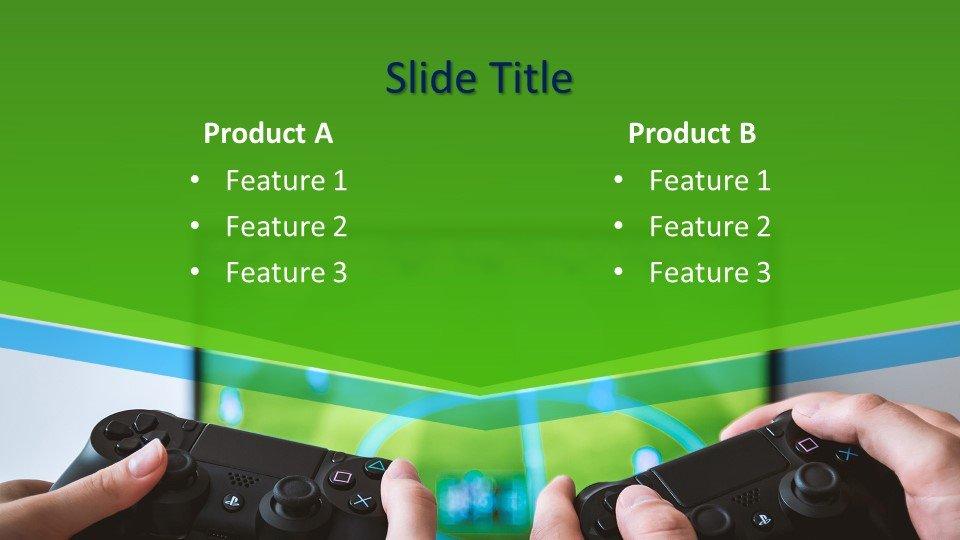 Descargar tema powerpoint Reproductores de videojuegos