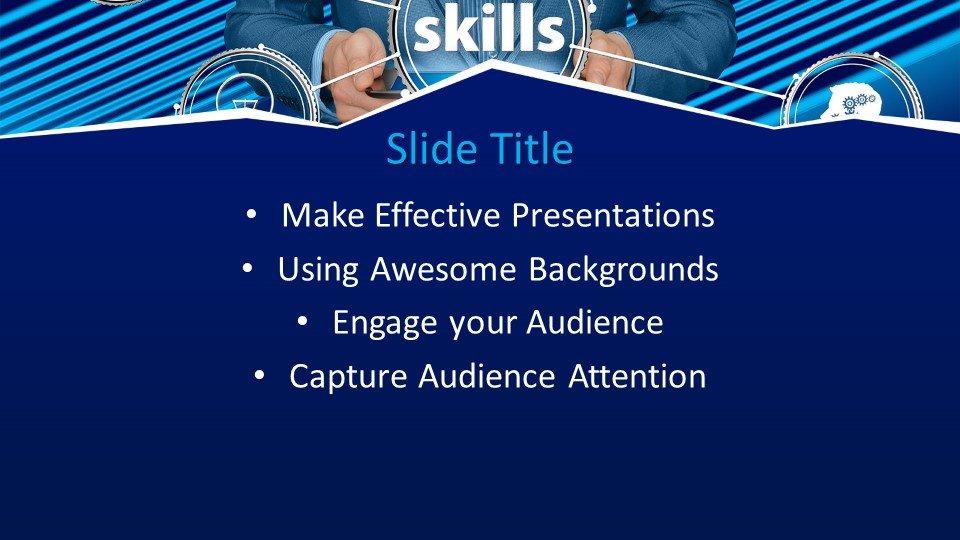 slides plantilla powerpoint Habilidades