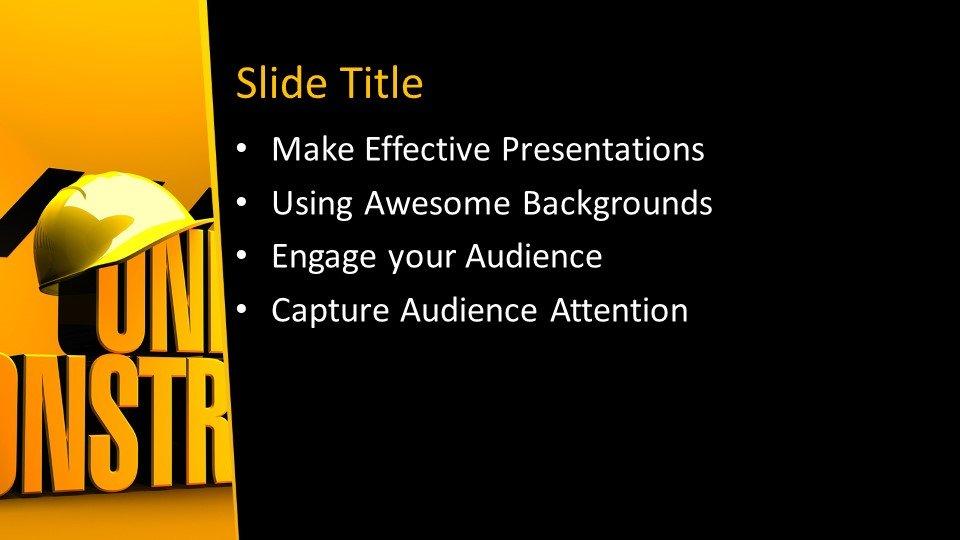 Powerpoint presentacion En construcción
