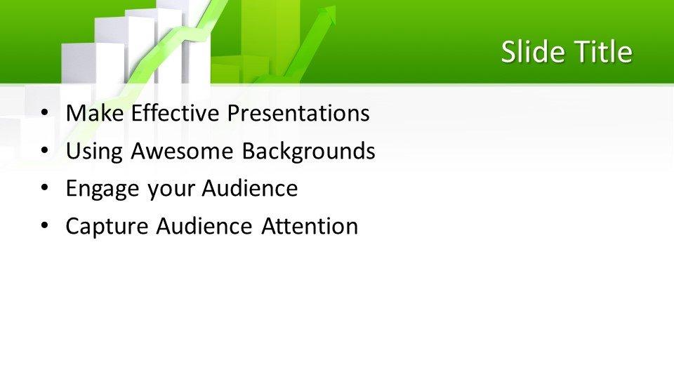 slides plantilla powerpoint Gráfico de datos de negocio