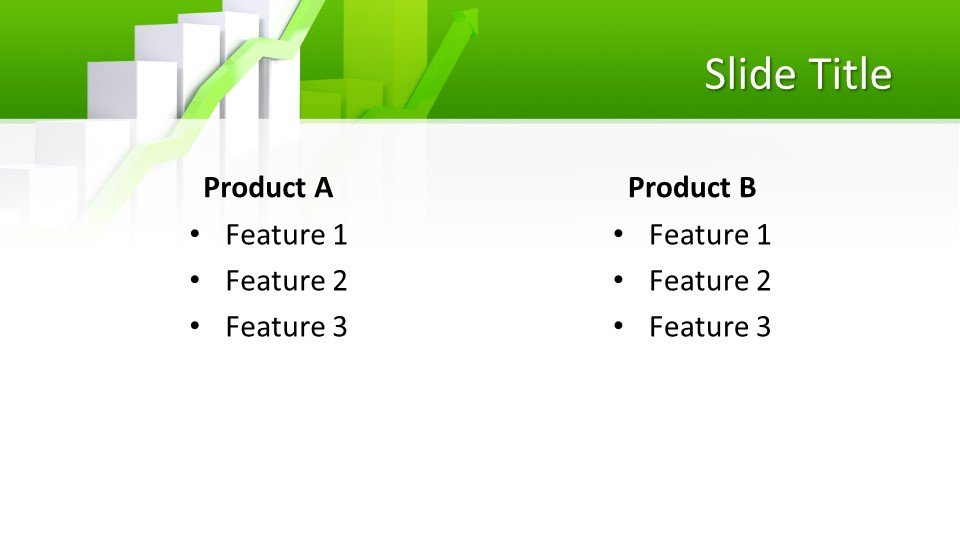 Descargar tema powerpoint Gráfico de datos de negocio