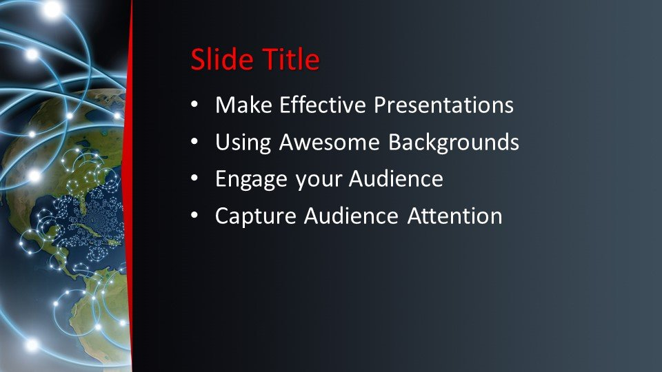 Powerpoint presentacion Botón rojo