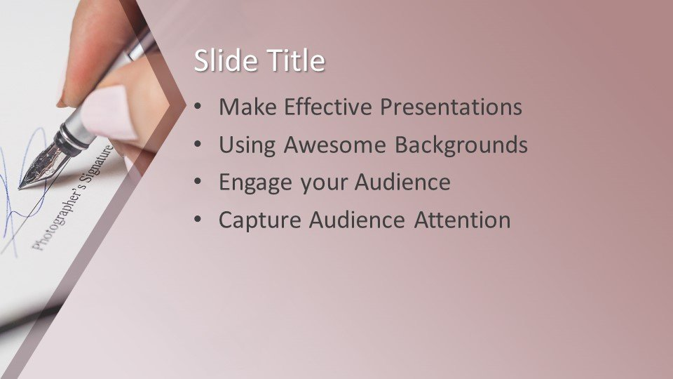 Powerpoint presentacion Firma