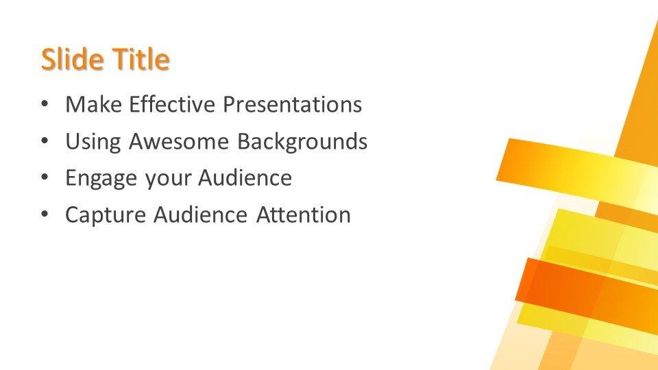 Powerpoint presentacion Fondo Amarillo