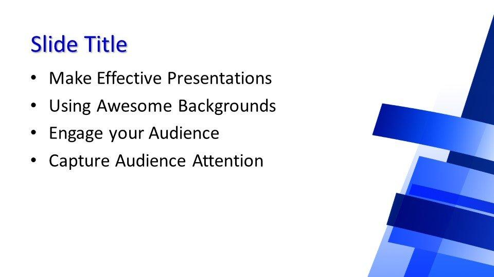 Powerpoint presentacion Fondo Azul