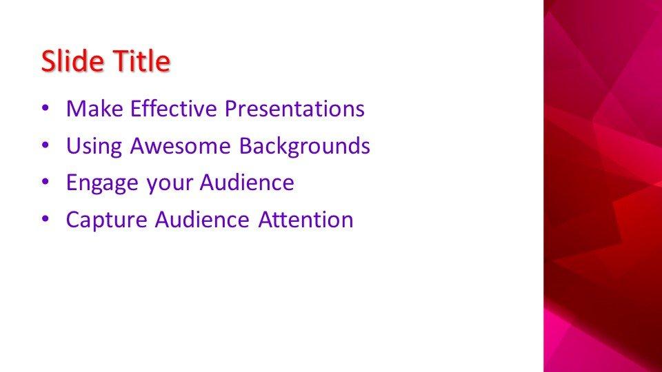 Powerpoint presentacion Carmesí