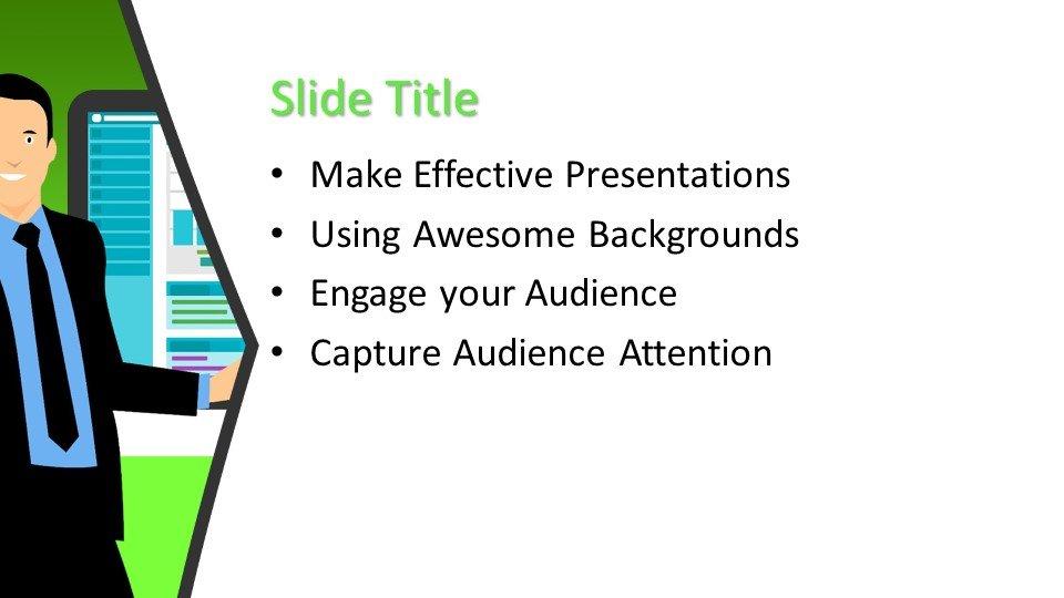 Powerpoint presentacion Empresario
