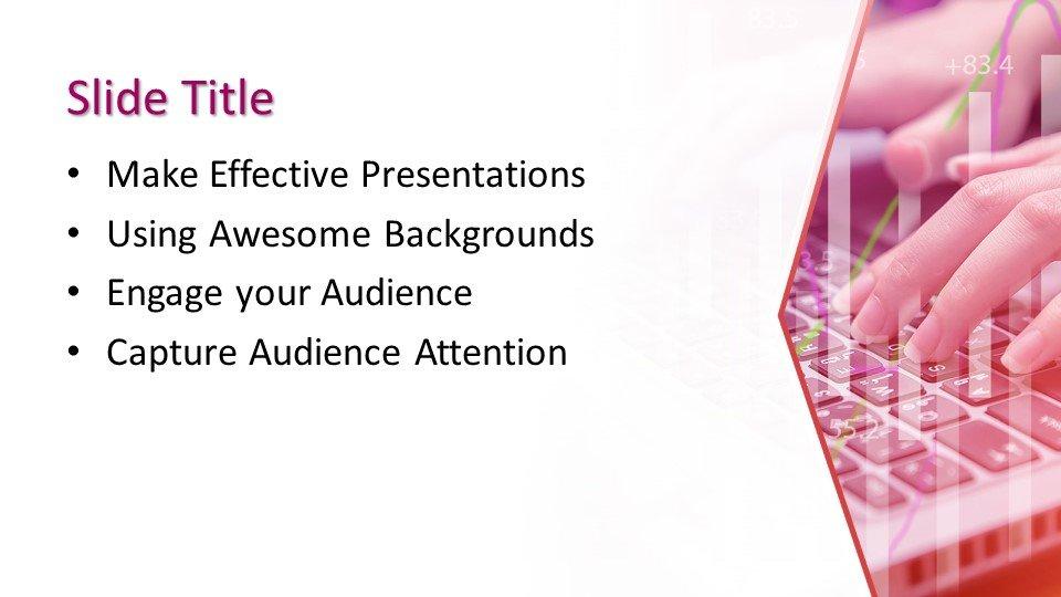 Powerpoint presentacion Escribiendo en la computadora
