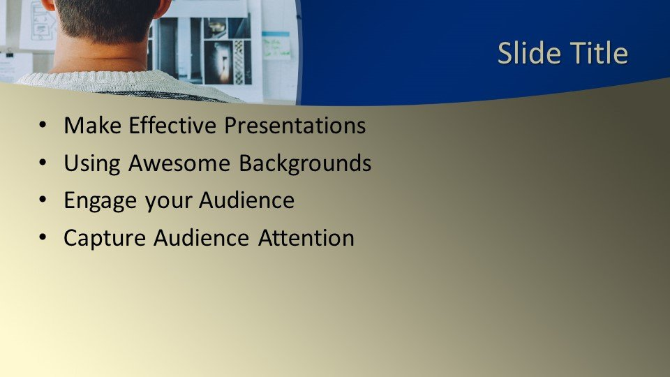 slides plantilla powerpoint Gestor de proyectos