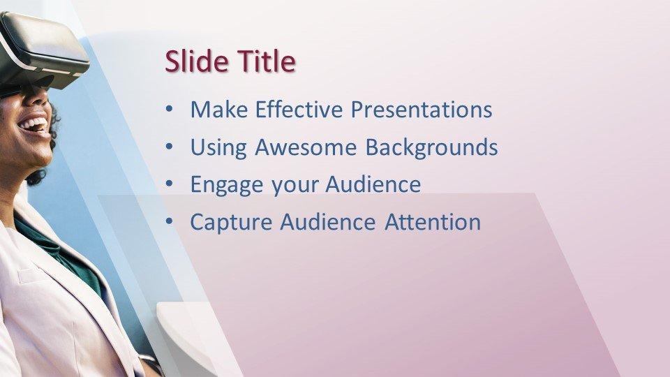 Powerpoint presentacion Entretenimiento de Realidad Virtual