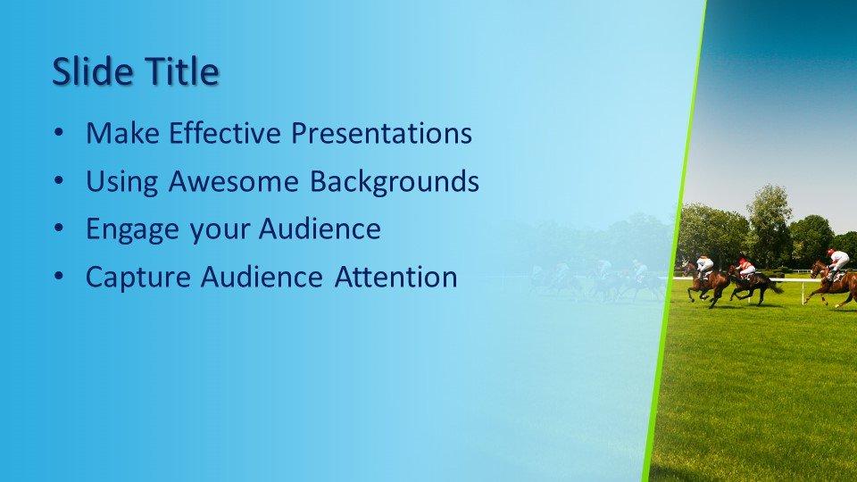 Powerpoint presentacion Carreras de caballos