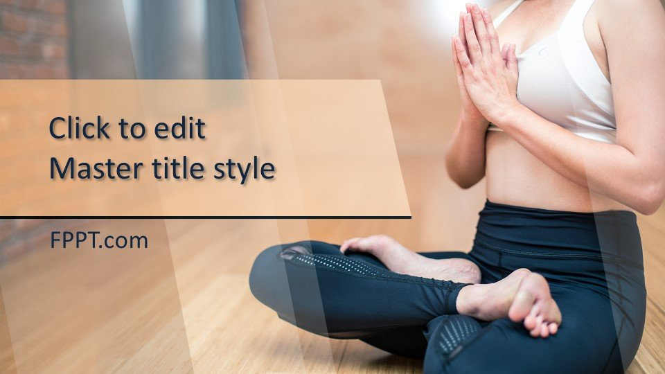 descargar plantilla powerpoint Yoga Poses