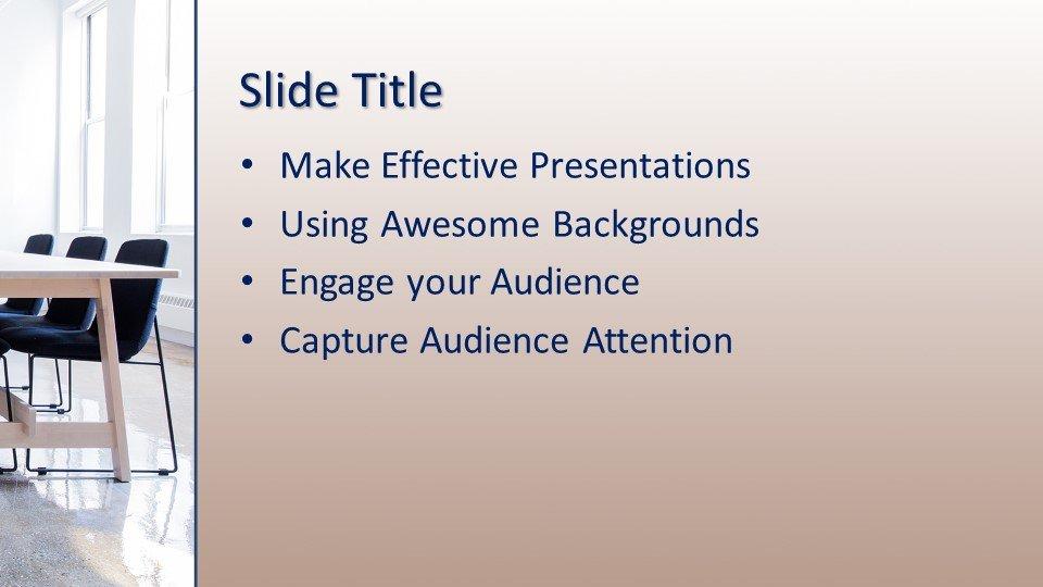 Powerpoint presentacion Espacio de trabajo