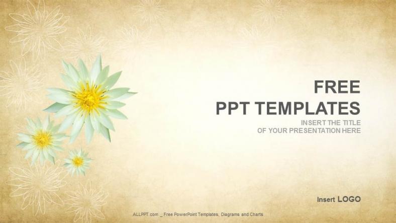 Descargar Presentaciones plantillas powerpointResumen de Lotus