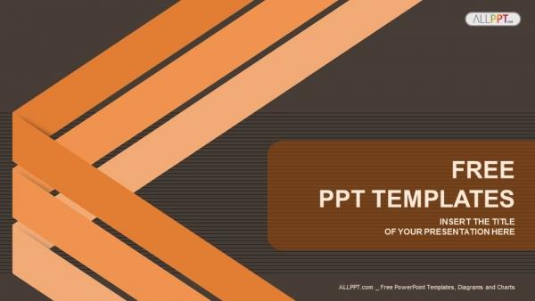 Descargar Presentaciones plantillas powerpointFondo abstracto con líneas