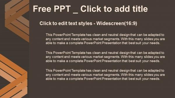 Diapositivas plantilla powerpointFondo abstracto con líneas