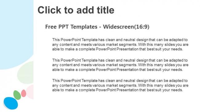 Presentaciones plantilla powerpointFondo colorido abstracto