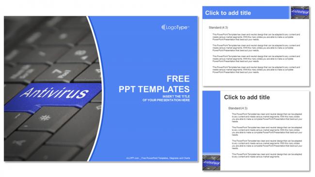 Presentaciones plantilla powerpointAnti Virus de Software