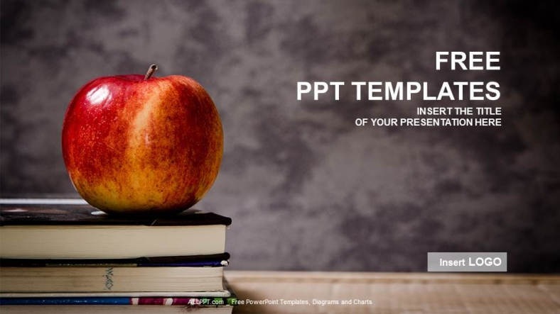 Powerpoint para presentacionesManzana y libro