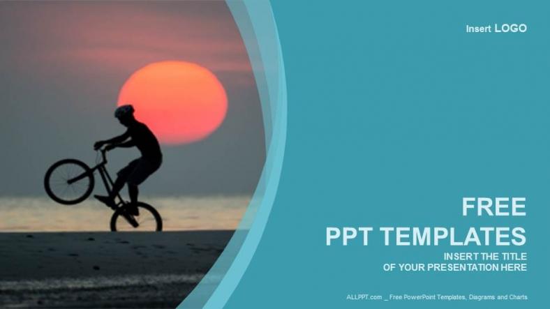 Powerpoint para presentacionesmotociclista