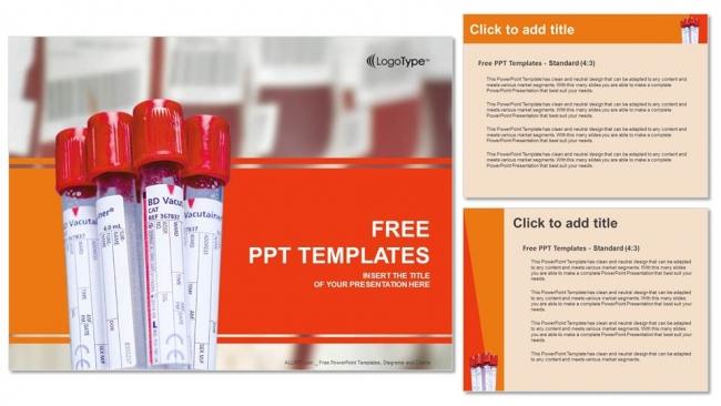 Diapositivas plantilla powerpointExámenes de sangre bioquímicos